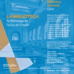 """Biblioteca Nacional y el Instituto Francés de Chile presentan """"La Biblioteca"""", una performance de Fanny de Chaillé"""