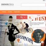 Memoria Chilena estrena nueva plataforma web