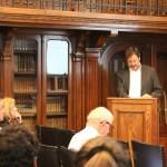 Roberto Aguirre en conferencia Biblioteca Nacional: Patrimonio Republicano de Chile