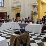 Desayuno de prensa inauguración celebraciones 200 años Biblioteca Nacional.