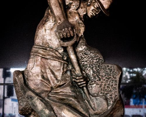 Imagen del monumento José Santos Ossa