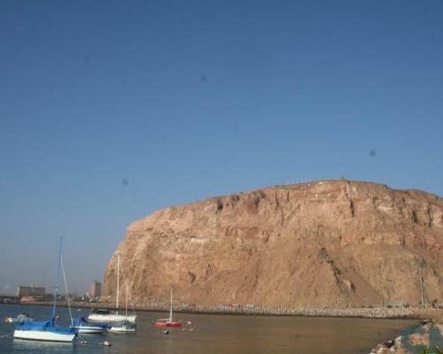 Imagen del monumento Morro de Arica
