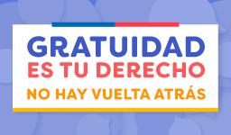 #GratuidadEsTuDerecho