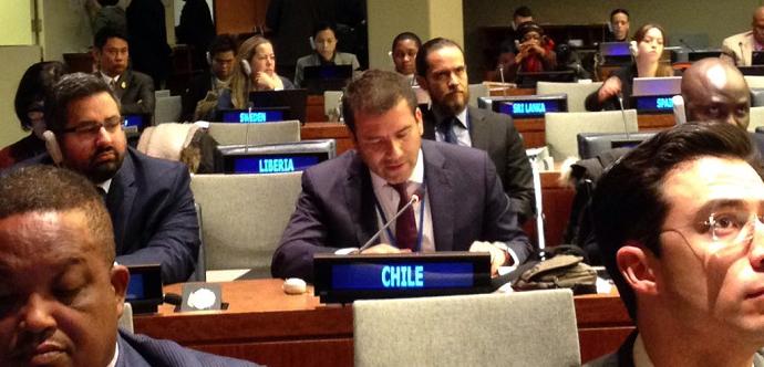 Subsecretario expone en panel de alto nivel de la ONU