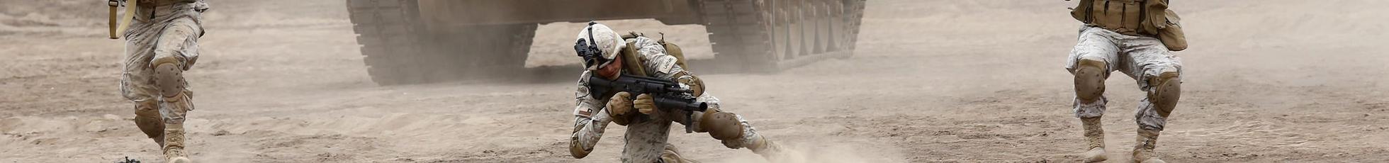 Imagen de Encabezado 4, Ejercito de Chile en ejercicios de guerra