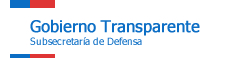 Gobierno Transparente: Subsecretaría de Defensa