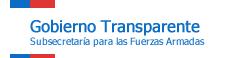 Gobierno Transparente: Subsecretaría para las Fuerzas Armadas