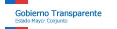 Gobierno Transparente: Estado Mayor Conjunto