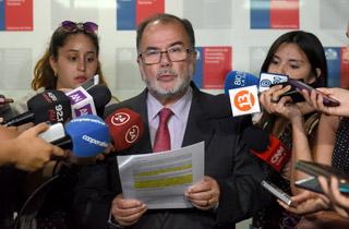 El Ministro de Economía, Fomento y Turismo, Jorge Rodríguez, se refiere al fallo del Tribunal Constitucional respecto a la nueva institucionalidad del Sernac.