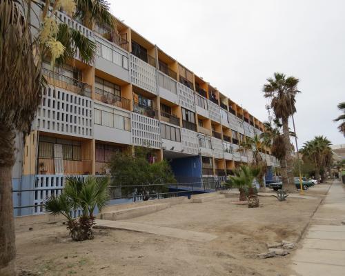 Imagen del monumento Conjunto Habitacional Lastarria
