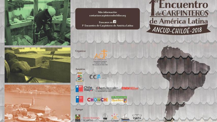 Imagen de CMN invita al 1er Encuentro de Carpinteros de América Latina en Chiloé