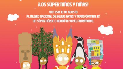 Imagen de Abiertas las inscripciones para voluntarios del 1er Súper Festival por el patrimonio para niños y niñas
