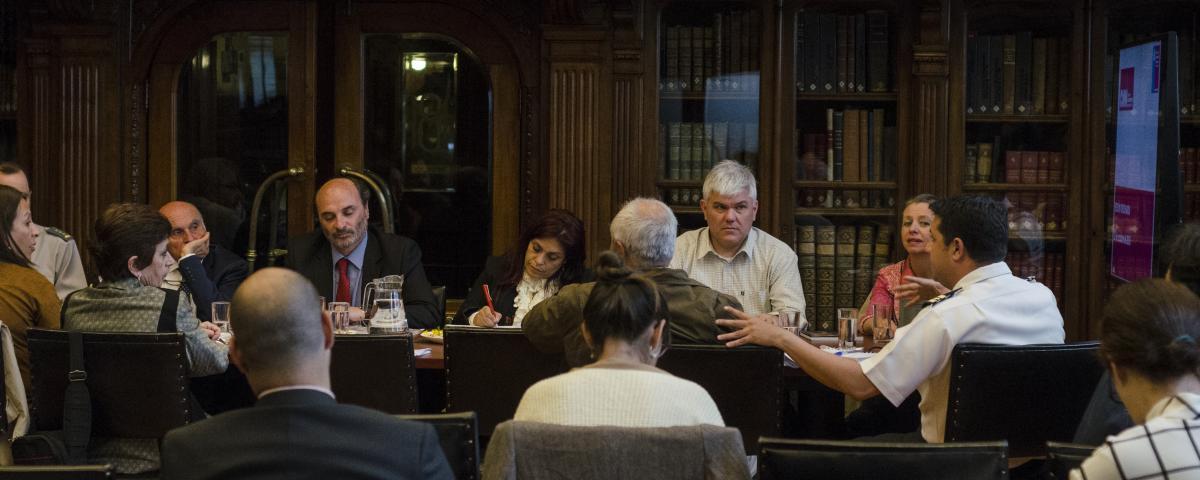 Imagen de Consejeros en Sesión
