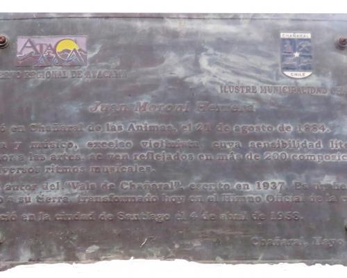 Imagen del monumento Juan Moroni Herrera