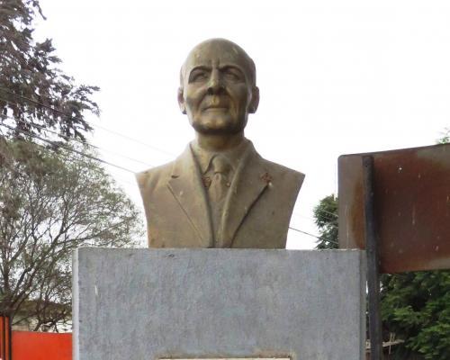 Imagen del monumento Paul Harris