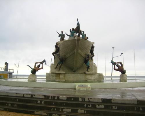 Imagen del monumento Momumento TripuLantes Goleta Ancud