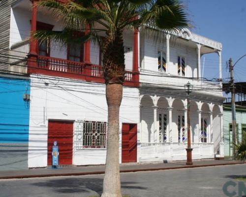 Imagen del monumento Los edificios ubicados a ambos costados de la calle Baquedano, (entre la Plaza Arturo Prat y José Joaquín Pérez)