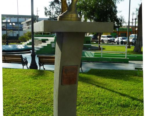 Imagen del monumento En Conmemoracion De Los 80 años De La Policia De Investigaciones De Chile