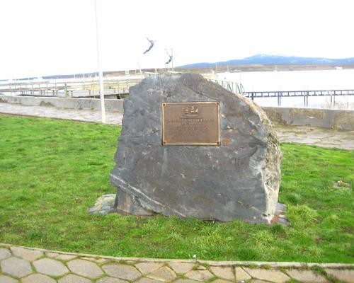 Imagen del monumento A Juan Ladrilleros