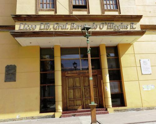 Imagen del monumento Placa Liceo Libertador General Bernardo O'Higgins
