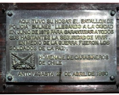 Imagen del monumento Homenaje De Carabineros