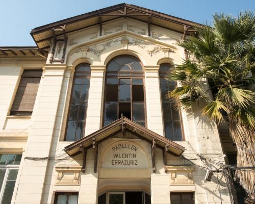 Imagen del monumento Pabellón Valentín Errazuriz y otros pabellones del Hospital San Borja Arriarán