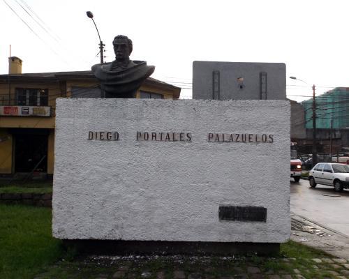 Imagen del monumento Diego Portales PaLazuelos