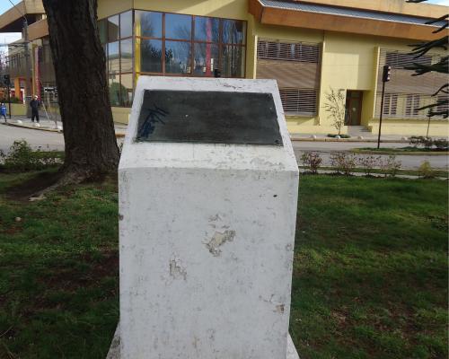 Imagen del monumento Raúl Rifo Cespe