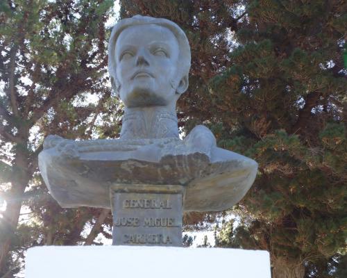 Imagen del monumento José Miguel Carrera