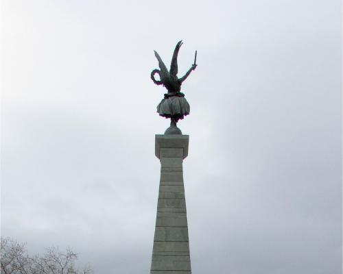 Imagen del monumento Batallón Cívico De Talca y La Victoria
