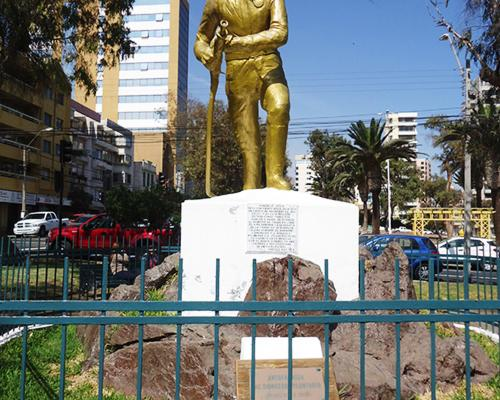 Imagen del monumento Al Bombero