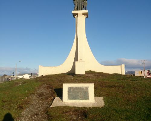 Imagen del monumento A San Juan Bosco