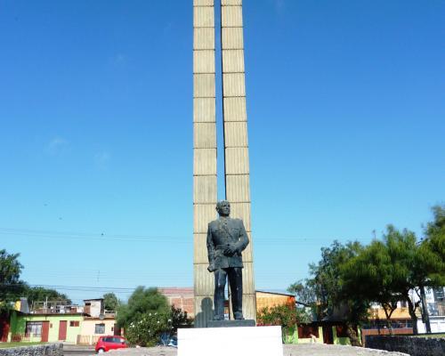 Imagen del monumento Placa Homenaje A Carabineros De Arica Al Fundador De Carabineros De Chile Gral. Carlos Ibañez Del Campo