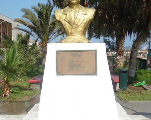 Imagen del monumento Domingo Latrille Fundador De TocopilLa