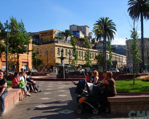 Imagen del monumento Sector plaza Echaurren y calle Serrano