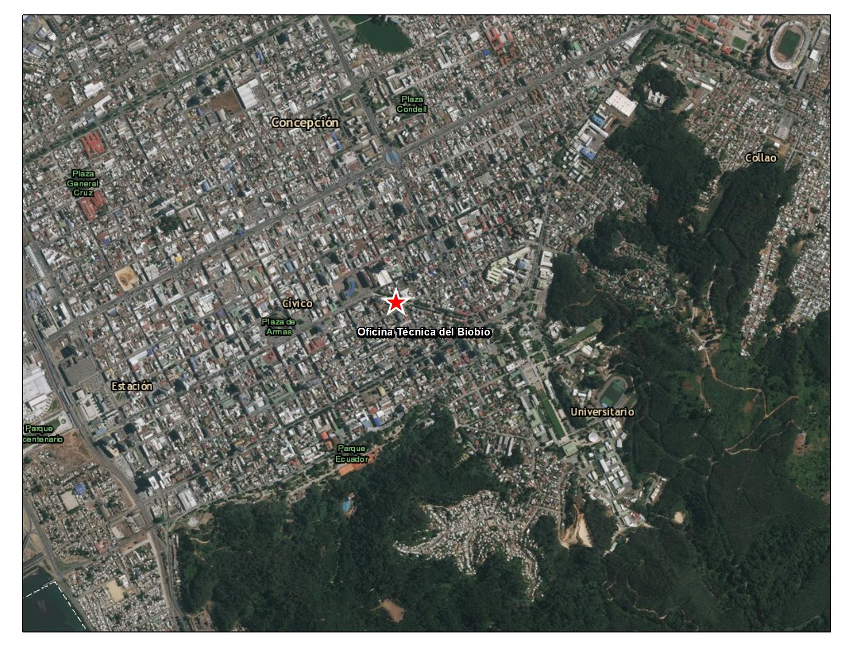 Imagen de Oficina técnica regional del Biobío