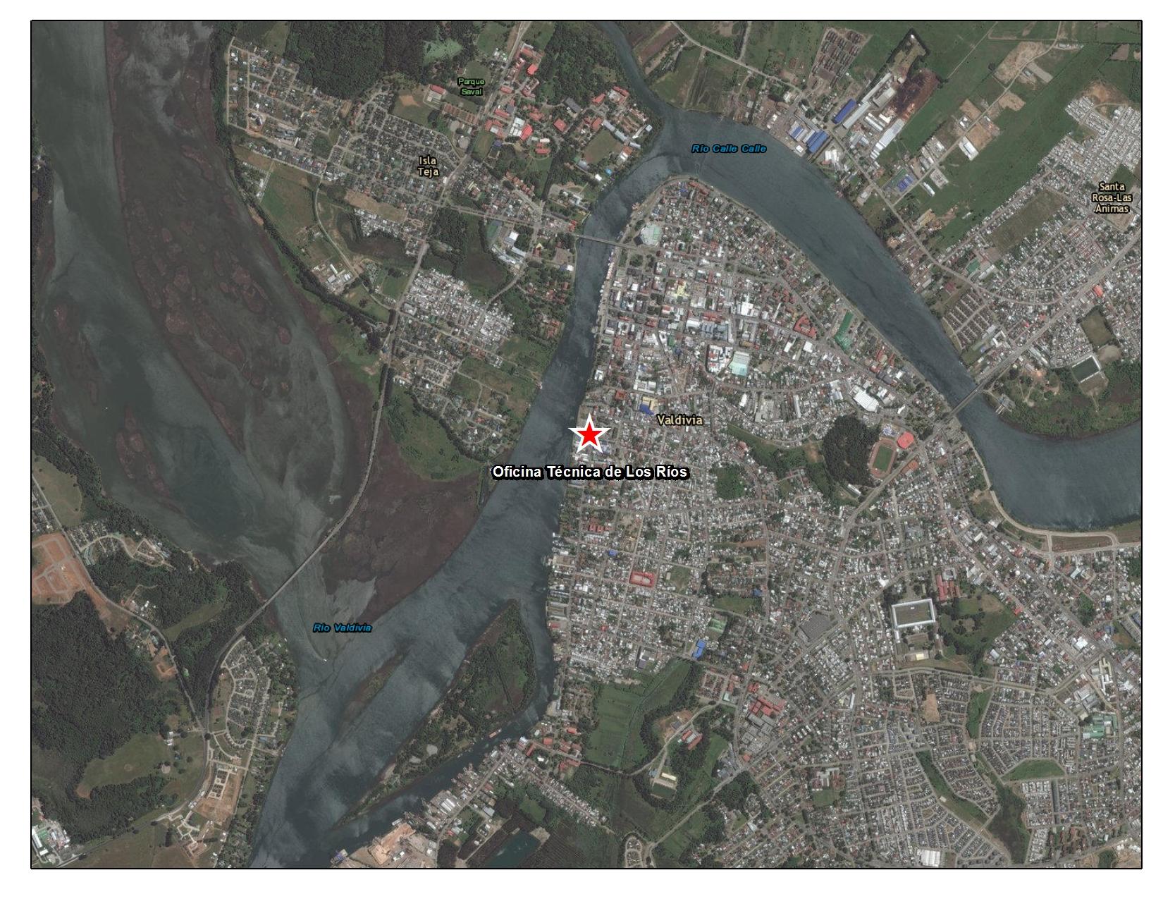 Imagen de Oficina técnica regional de Los Ríos