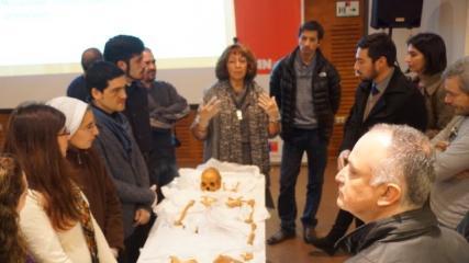 """Imagen de """"Taller Arqueología Forense, Osteología y Reconstrucción Facial"""" se realiza en La Serena"""