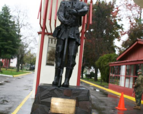 Imagen del monumento A Los Soldados Del Batallón Chillán