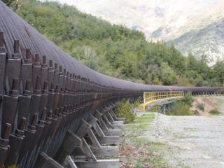 Imagen del monumento Tubería de madera de Pangal