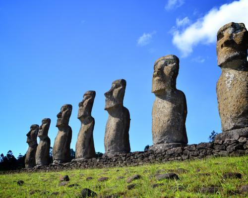 Imagen del monumento Isla de Pascua