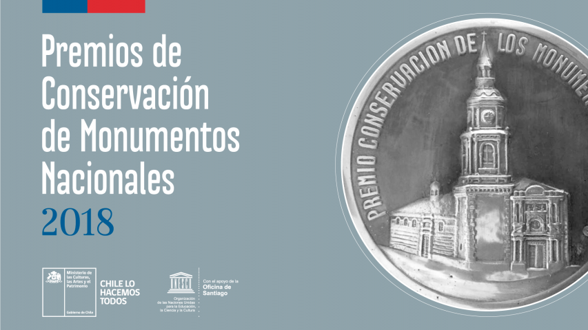 Imagen de Convocatoria PREMIOS CONSERVACIÓN DE MONUMENTOS NACIONALES 2018