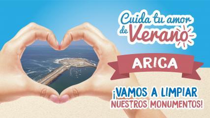 Imagen de Limpieza en Ex Isla Alacrán - Arica
