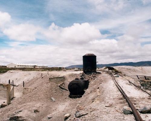 Imagen del monumento Ruinas del Complejo Industrial Azufrero de Tacora