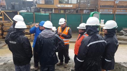 Imagen de Visita técnica a obras de infraestructura en Puerto Montt y Chiloé