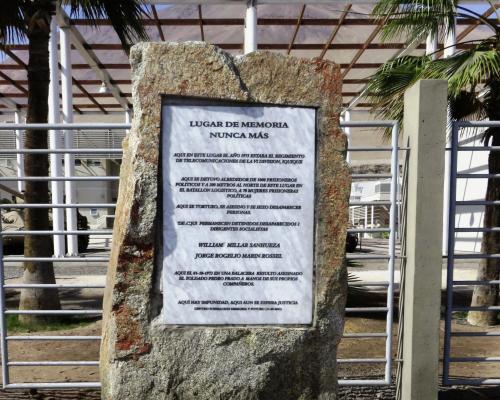 Imagen del monumento Lugar De Memoria Nunca Más