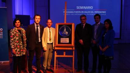 Imagen de Consejo de Monumentos Nacionales entrega reconocimiento a la Subsecretaría de Desarrollo Regional