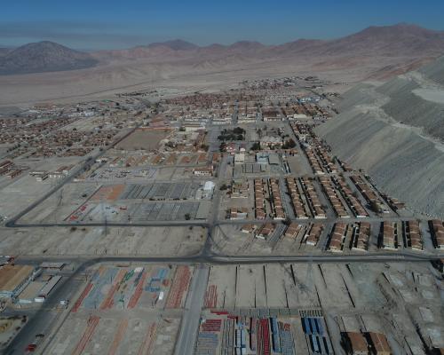 Imagen del monumento Campamento Minero de Chuquicamata