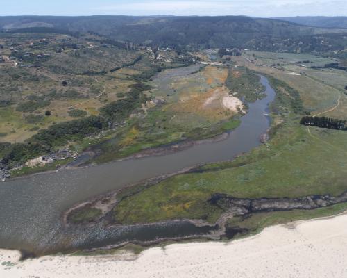 Imagen del monumento Humedal de Tunquén