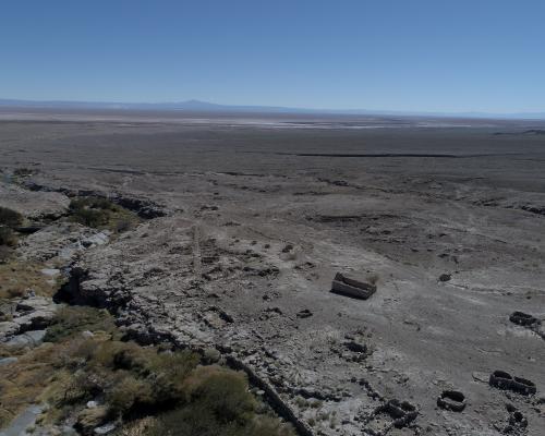 Imagen del monumento Tambo incaico de Peine
